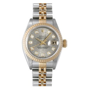 Rolex Rolex 18K/SS ladies Datejust Watch with Grey Diamond Jubilee Dial
