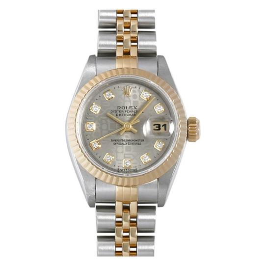 Preload https://item5.tradesy.com/images/rolex-18kss-ladies-datejust-with-grey-diamond-jubilee-dial-watch-23973749-0-0.jpg?width=440&height=440