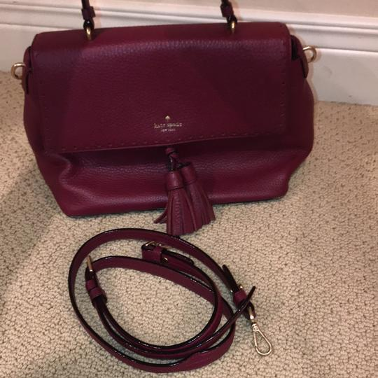 Kate Spade Satchel in Cranberry