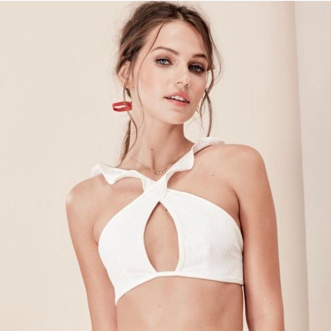For Love & Lemons For Love and Lemons Rodeo Keyhole Bikini Top NWT