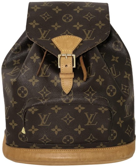 Preload https://item5.tradesy.com/images/louis-vuitton-montsouris-monogram-mm-brown-canvas-backpack-23973849-0-1.jpg?width=440&height=440