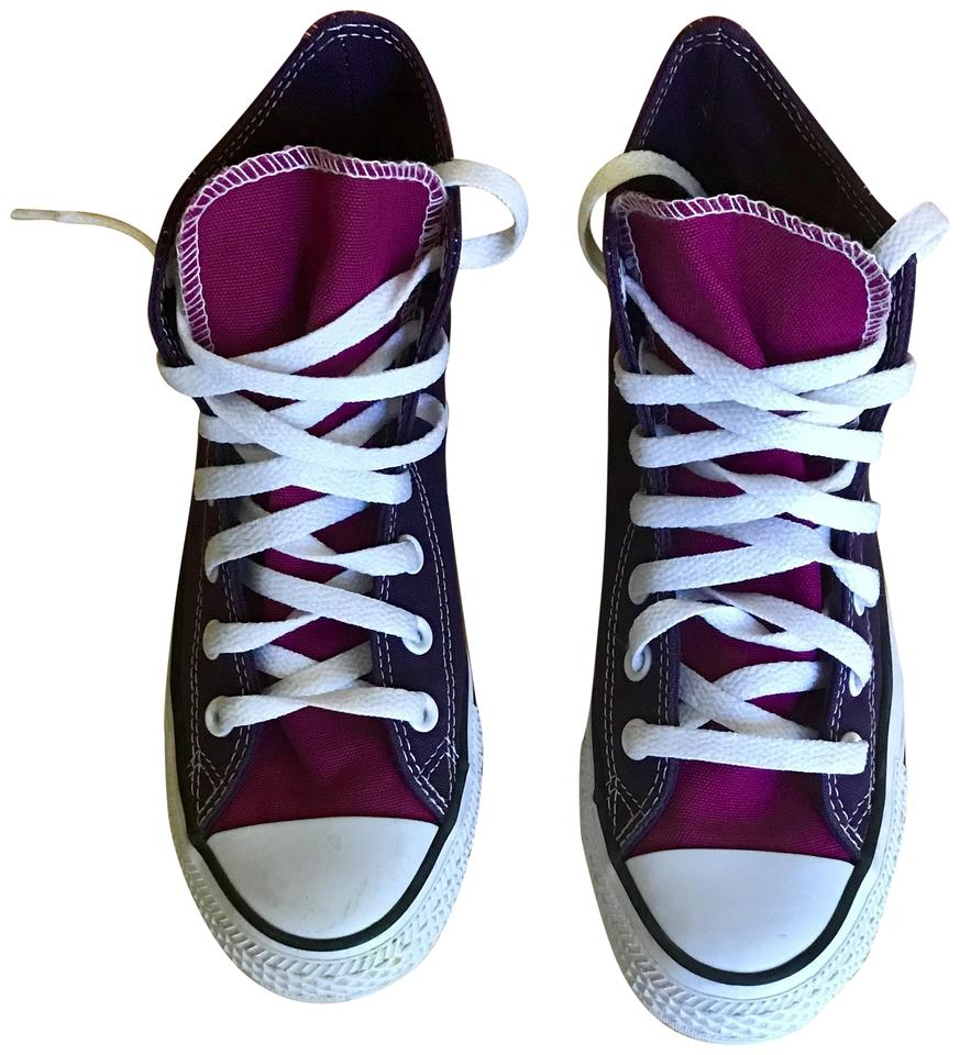 dd6f2b2c50d8 Converse Purple All Stars High Top Sneakers Sneakers Size US 6 ...