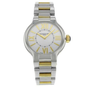 Raymond Weil White Mother Of Pearl Noemia 5932-stp-00907 32 Mm Watch