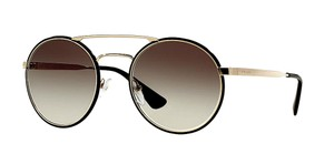 Prada Large Retro Rounded Style S PR 51S 1AB0A7 - FREE 3 DAY SHIPPING Round