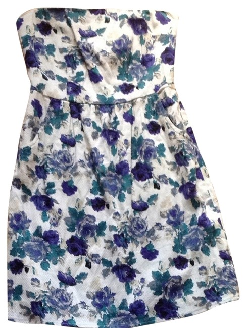 Paraella Floral Strapless Dress