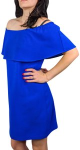 Charles Henry Ruffled Sheath Royal Dress