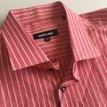 Jared Lang Coral New Striped Button-down Top Size 22 (Plus 2x) Jared Lang Coral New Striped Button-down Top Size 22 (Plus 2x) Image 2