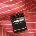 Jared Lang Coral New Striped Button-down Top Size 22 (Plus 2x) Jared Lang Coral New Striped Button-down Top Size 22 (Plus 2x) Image 6