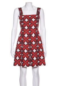 Valentino short dress Red & White on Tradesy