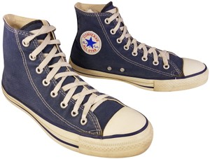 a3c2085a4880 Blue Converse Sneakers - Up to 90% off at Tradesy
