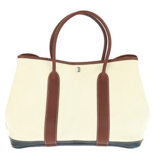 Hermès Leather Tote in Multicolor