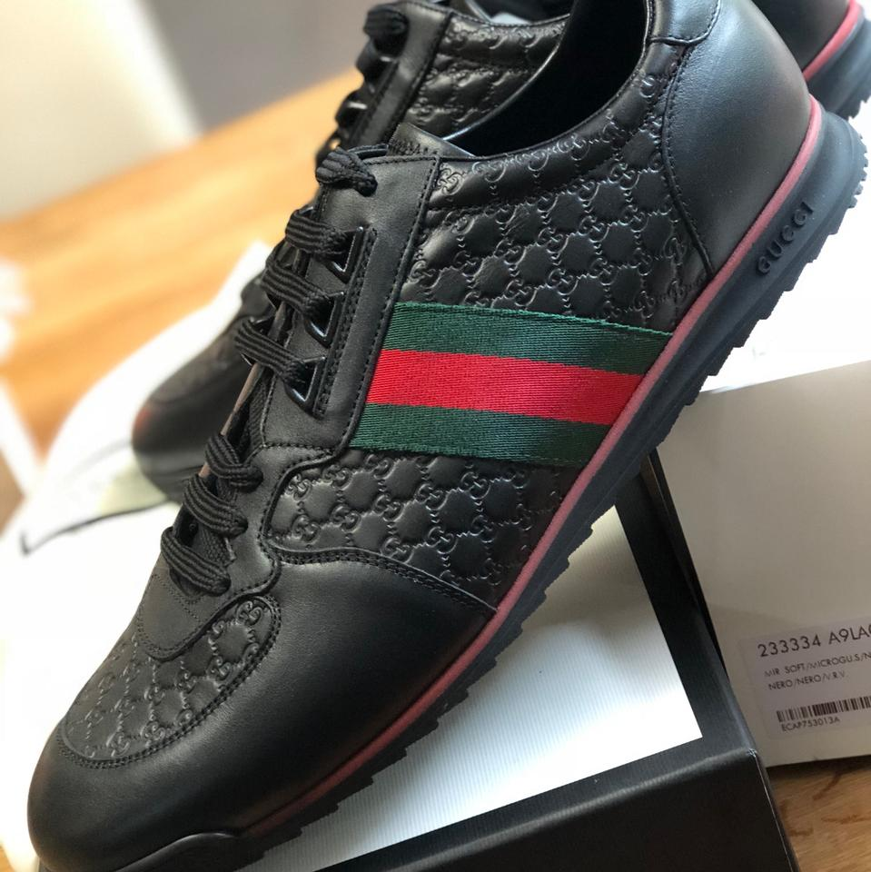 bd4e6fa1cff Gucci Black Sl 73 Sneakers Size US 12 Regular (M