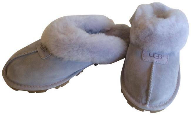 Item - Icelandic Blue Women's Coquette Slipper Mules/Slides Size US 7 Regular (M, B)