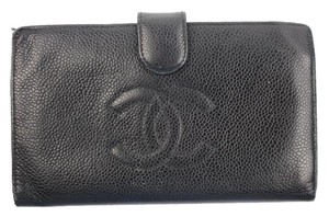 Chanel Caviar Classic Flap Long Wallet CCWLM11