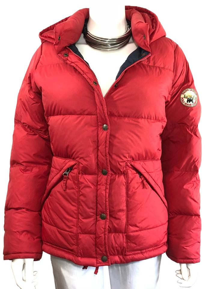 Parka 1967 Red 8m41Off Ralph Down Size Retail Patch 90's Goose Coat Jacket Lauren Polo Puffer Vintage Bear eodCxB