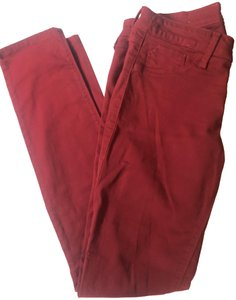 SOLD Design Lab Skinny Pants Cranberry