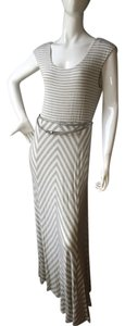 Grey And white Maxi Dress by Calvin Klein
