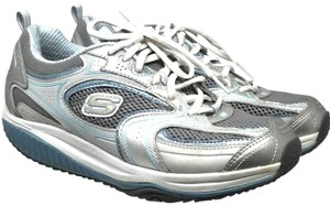 Skechers 8 S060918-02 Silver Athletic