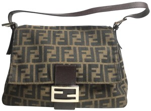 Fendi Zucca Mama Forever Brown and Tobacco Canvas Shoulder Bag - Tradesy 2332d3d2ea2af
