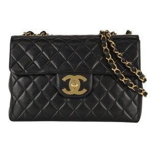 Chanel Classic Jumbo Flap Quilted Shoulder Bag
