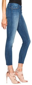 Mother Fray Ankle Looker Skinny Jeans