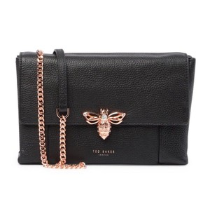 Ted Baker Embellishment Magnetic Closure Insect Bee Detail Cross Body Bag