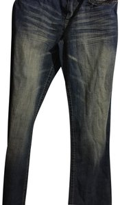 Hydraulic Boot Cut Pants blue