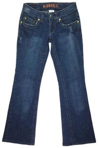 Hydraulic Size 4 J071818-57 Boot Cut Jeans-Medium Wash