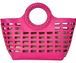 Street Level Tote in Fuchsia