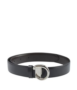 Cartier Cartier Panthere Black & Brown Leather Belt (155779)