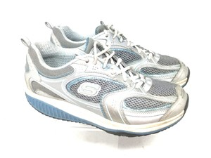Skechers S042418-12 Sneakers 8 Shape Ups Gray Blue Athletic