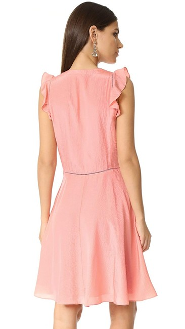 Rebecca Taylor short dress Pink Peach Silk on Tradesy Image 1