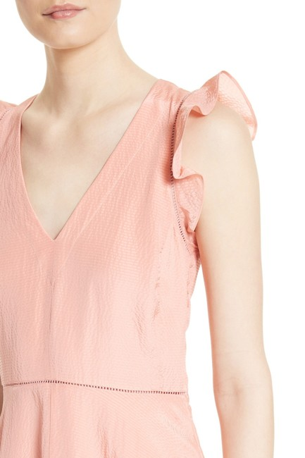 Rebecca Taylor short dress Pink Peach Silk on Tradesy Image 2