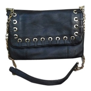 Aldo Metal Gold Hardware Clutch Faux Leather Faux Leather Chain Strap Chain Detsil Chain Cross Body Bag