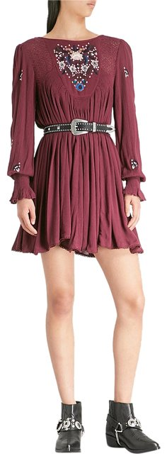 Preload https://img-static.tradesy.com/item/23980219/free-people-plum-burgundy-mohave-embroidered-woven-mini-short-casual-dress-size-2-xs-0-1-650-650.jpg