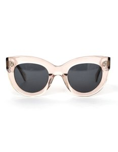 Céline Transparent Pink Clear Cat Eye Sunglasses With Grey Tint Lenses