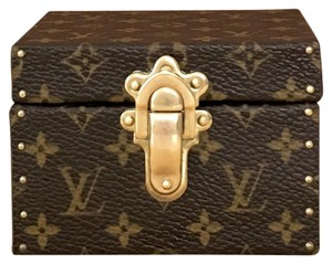 Louis Vuitton Louis Vuitton Monogram Jewelry Box Mini Trunk Hard Case