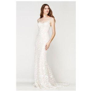 Watters & Watters Bridal Ivory/Almond Willowby 56136 Marseille 6 Destination Wedding Dress Size 2 (XS)