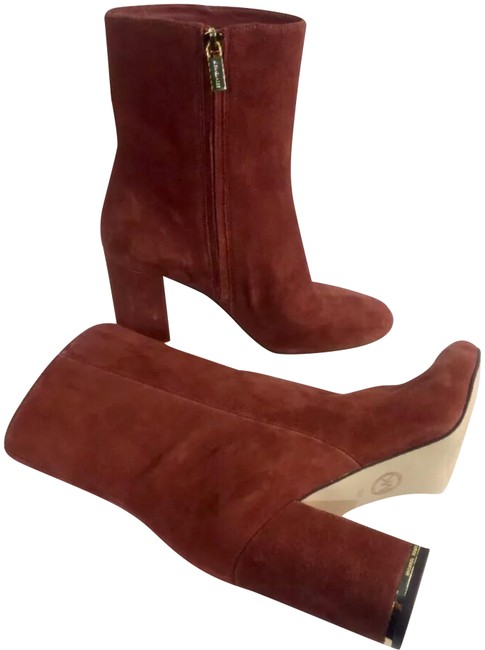 Item - Burgundy New Women's Ankle Boots/Booties Size US 7 Regular (M, B)