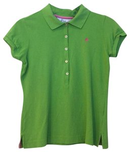 Lilly Pulitzer Button Down Shirt green