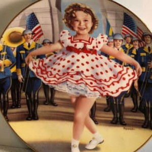 """Danbury Mint SHIRLEY TEMPLE """"STAND UP AND CHEER"""" LIMITED EDITION COLLECTORS PLATE"""