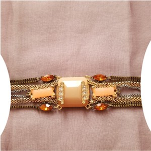 3cf83a338 Nordstrom Nordstrom Berry Mixed Chain & Stone Bracelet