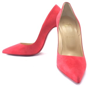 Christian Louboutin So Kate Suede Leather chili red Pumps