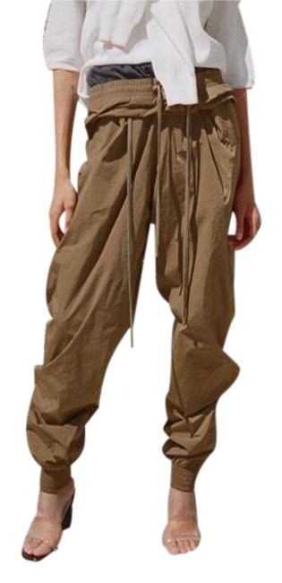 Preload https://img-static.tradesy.com/item/23981664/yproject-olive-double-waistband-track-pants-romperjumpsuit-0-1-650-650.jpg