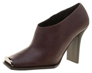 Stella McCartney Faux Leather Burgundy Boots