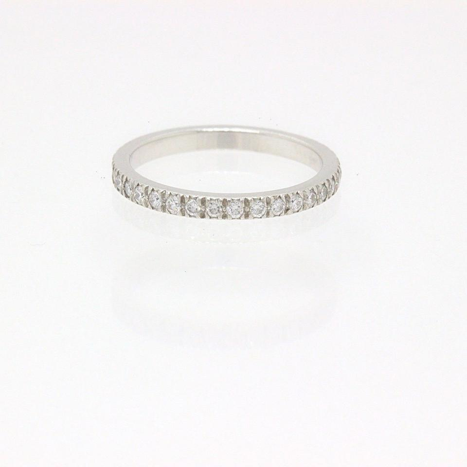 f1e853f20 Tiffany & Co. F Novo Platinum Diamond Eternity Ring Full Circle Women's Wedding  Band