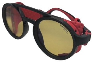 c0b72e6cf57e1 Carrera CARRERA Sunglasses 5046 S 003HW 49-24 Black Red Side Shields Yellow