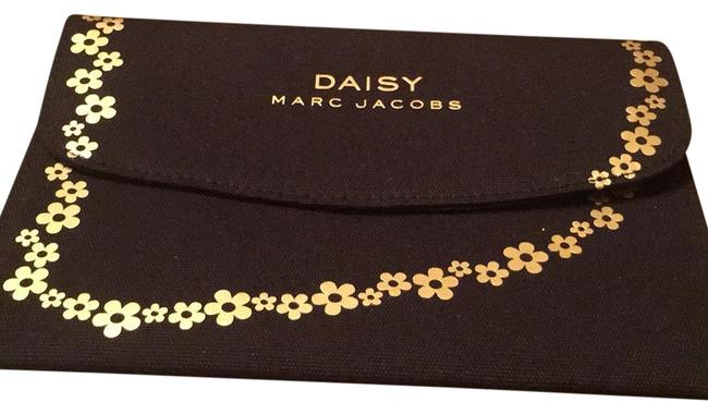 Item - Black & Gold Daisy Cosmetic Bag
