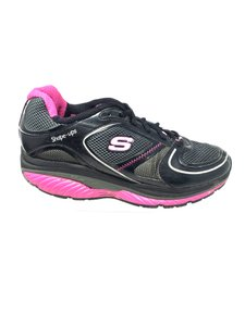 Skechers Shape Ups Size 9 S041318-08 black pink Athletic