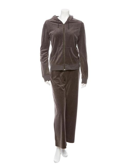 Burberry Burberry Velour Tracksuit Jogger Runner Leisure Suit Image 1